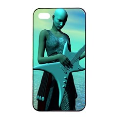 Sad Guitar Apple Iphone 4/4s Seamless Case (black) by icarusismartdesigns