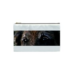 Belgian Tervueren Eyes Cosmetic Bag (Small)  by TailWags