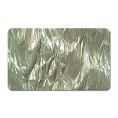 Crumpled Foil Magnet (rectangular) by MoreColorsinLife