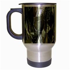 Crumpled Foil Travel Mug (silver Gray) by MoreColorsinLife