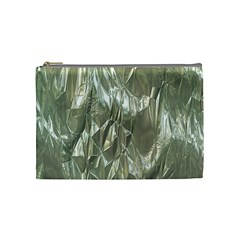 Crumpled Foil Cosmetic Bag (medium)  by MoreColorsinLife