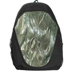 Crumpled Foil Backpack Bag by MoreColorsinLife