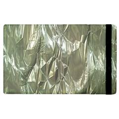 Crumpled Foil Apple Ipad 2 Flip Case by MoreColorsinLife