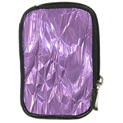 Crumpled Foil Lilac Compact Camera Cases by MoreColorsinLife