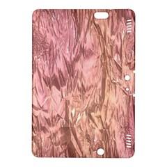 Crumpled Foil Pink Kindle Fire HDX 8.9  Hardshell Case by MoreColorsinLife