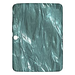Crumpled Foil Teal Samsung Galaxy Tab 3 (10.1 ) P5200 Hardshell Case