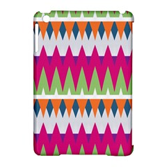 Chevron Pattern Apple Ipad Mini Hardshell Case (compatible With Smart Cover) by LalyLauraFLM