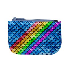 Rainbow Scales 2 Coin Change Purse by Ellador