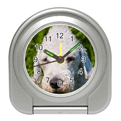 Bedlington Terrier Travel Alarm Clocks by TailWags