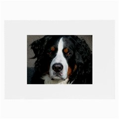 Bernese Mountain Dog Large Glasses Cloth (2-Side) by TailWags