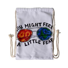 Little fear Drawstring Bag (Small)
