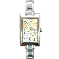 Tearespite Rectangle Italian Charm Watches by northerngardens