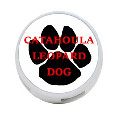 Catahoula Name Paw 4-Port USB Hub (Two Sides)  by TailWags