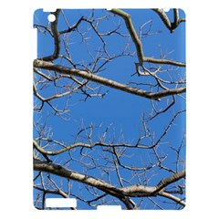 Leafless Tree Branches Against Blue Sky Apple Ipad 3/4 Hardshell Case by dflcprints