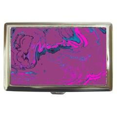 Unique Marbled 2 Hot Pink Cigarette Money Cases by MoreColorsinLife