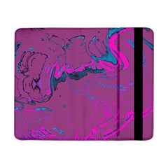 Unique Marbled 2 Hot Pink Samsung Galaxy Tab Pro 8.4  Flip Case by MoreColorsinLife