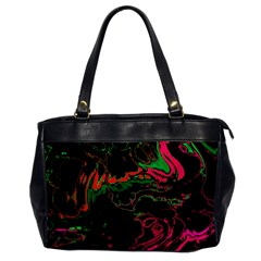 Unique Marbled 2 Tropic Office Handbags by MoreColorsinLife