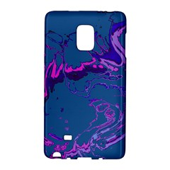 Unique Marbled 2 Blue Galaxy Note Edge by MoreColorsinLife