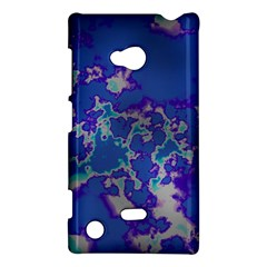 Unique Marbled Blue Nokia Lumia 720 by MoreColorsinLife