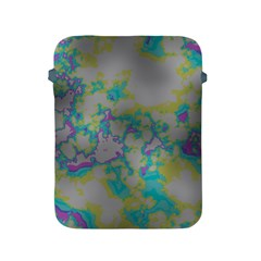 Unique Marbled Candy Apple iPad 2/3/4 Protective Soft Cases by MoreColorsinLife