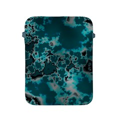 Unique Marbled Teal Apple Ipad 2/3/4 Protective Soft Cases by MoreColorsinLife