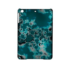 Unique Marbled Teal Ipad Mini 2 Hardshell Cases by MoreColorsinLife