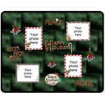 Happy Holidays Medium Fleece Blanket - Fleece Blanket (Medium)