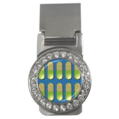 Capsule Pattern Money Clips (cz)  by theimagezone