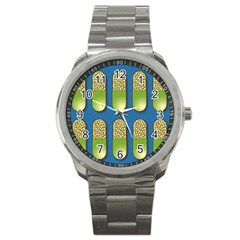 Capsule Pattern Sport Metal Watches by theimagezone