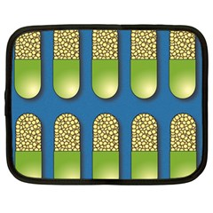 Capsule Pattern Netbook Case (Large)	 by theimagezone
