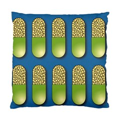 Capsule Pattern Standard Cushion Case (one Side)  by theimagezone