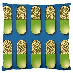 Capsule Pattern Large Cushion Cases (two Sides)  by theimagezone