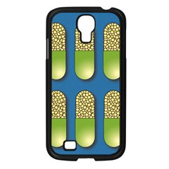 Capsule Pattern Samsung Galaxy S4 I9500/ I9505 Case (black) by theimagezone