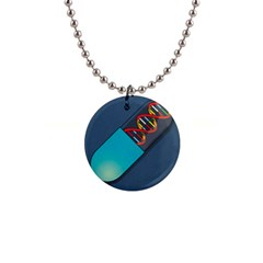 Dna Capsule Button Necklaces by theimagezone
