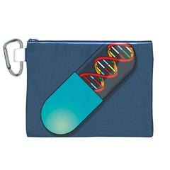 Dna Capsule Canvas Cosmetic Bag (XL)  by theimagezone