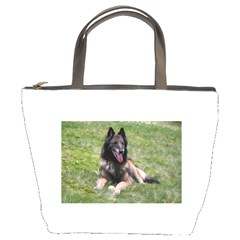 Belgian Tervuren Laying Bucket Bags by TailWags