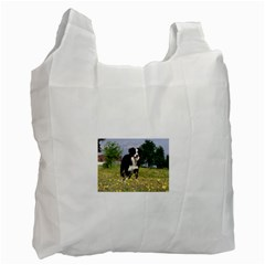 Border Collie Full 3 Recycle Bag (One Side) by TailWags