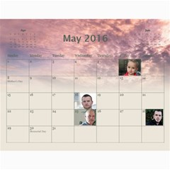 2016 Borodin By Karina   Wall Calendar 11  X 8 5  (12 Months)   Favzk32pzy0p   Www Artscow Com May 2016