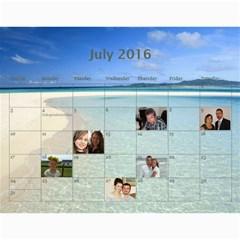 2016 Borodin By Karina   Wall Calendar 11  X 8 5  (12 Months)   Favzk32pzy0p   Www Artscow Com Jul 2016