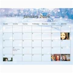 2016 Borodin By Karina   Wall Calendar 11  X 8 5  (12 Months)   Favzk32pzy0p   Www Artscow Com Jan 2016