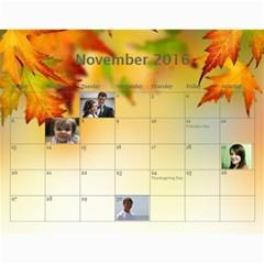 2016 Borodin By Karina   Wall Calendar 11  X 8 5  (12 Months)   Favzk32pzy0p   Www Artscow Com Nov 2016