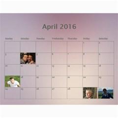 2016 Borodin By Karina   Wall Calendar 11  X 8 5  (12 Months)   Favzk32pzy0p   Www Artscow Com Apr 2016