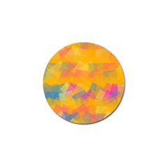Fading Squares Golf Ball Marker by LalyLauraFLM
