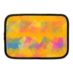 Fading Squares Netbook Case (medium) by LalyLauraFLM