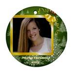Bobbie Ornament - Ornament (Round)