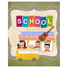 School By Jo Jo   Drawstring Bag (small)   Pvmfthc5kuof   Www Artscow Com Front
