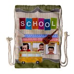 school - Drawstring Bag (Large)