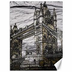 Metal Art London Tower Bridge Canvas 36  x 48   by MoreColorsinLife