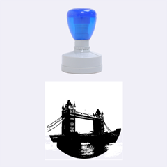London Tower Bridge Red Rubber Round Stamps (medium)
