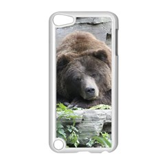 Tired Bear Apple Ipod Touch 5 Case (white) by MoreColorsinLife